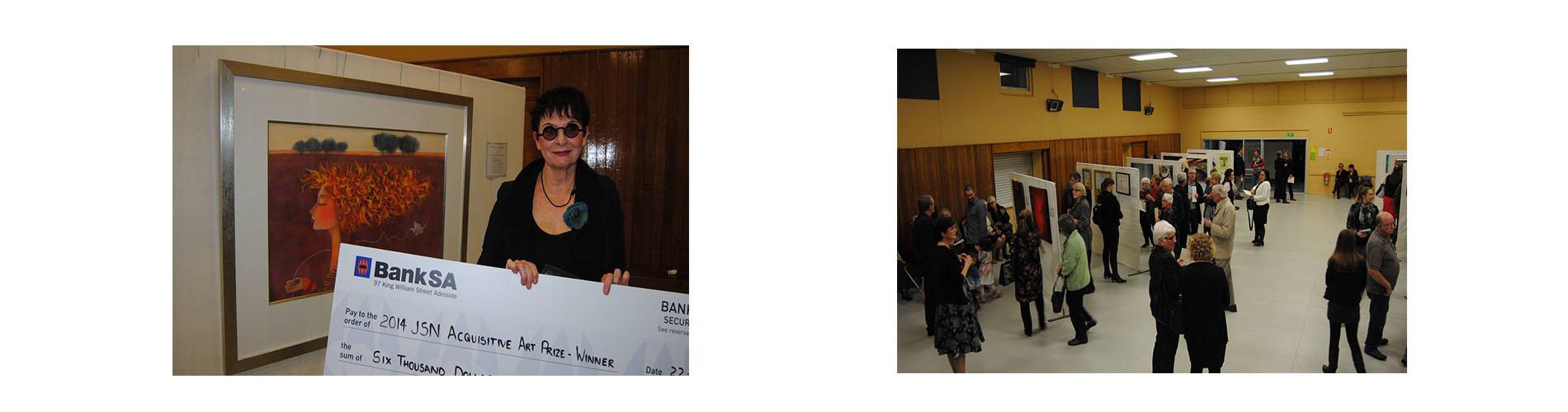 2014 John Shaw Neilson Acquisitive Art Prize Winner and Opening